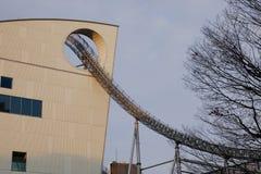 Часть города Laqua Tokyo Dome в токио, Японии Стоковая Фотография RF