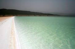 Laque Assal à Djibouti Image stock