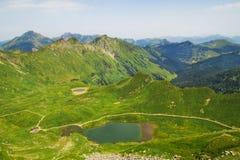 Laque Vert, Valais, Suisse Photographie stock libre de droits
