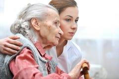 Lar de idosos Fotos de Stock Royalty Free