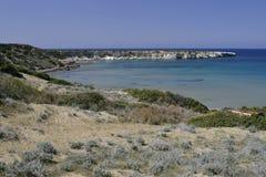 Lara Bay, Akamas, Cyprus Royalty Free Stock Image