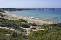 Lara Bay, Akamas, Cyprus Stock Photos