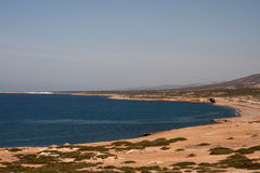 Lara Bay Beach in Cyprus Stock Image