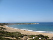 Lara Bay, Cyprus - one of the best beaches Royalty Free Stock Photography