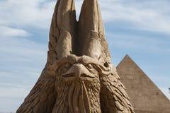 Lara Sandland Sculptures Fotografia Stock Libera da Diritti