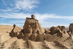 Lara Sandland Sculptures Fotografie Stock Libere da Diritti
