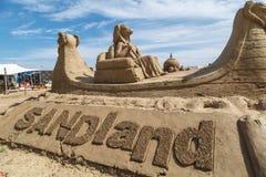 Lara Sandland Sculptures Royalty Free Stock Photo