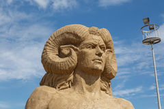 Lara Sandland Sculptures Stock Image
