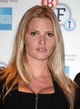 Lara Stone. Attending a photocall before introducing the film 'The Spy Who Loved Me' at BFI Southbank, London. 28/08/2012 Picture by: Alexandra Glen / Royalty Free Stock Image