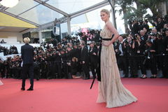 Lara Stone. Attends a screening of 'Julieta' at the annual 69th Cannes Film Festival at Palais des Festivals on May 17, 2016 in Cannes, France Royalty Free Stock Photo