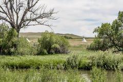 Laramie forte, Wyoming Fotografia Stock