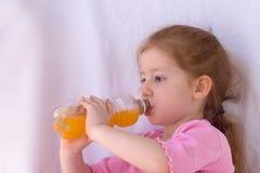 A laranja é tão yummy! Imagens de Stock
