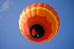 Laranja brilhante Balloon2 Fotografia de Stock Royalty Free