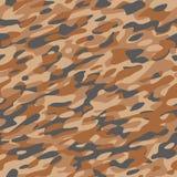 Laranja Brown do teste padrão de matéria têxtil da camuflagem Imagem de Stock Royalty Free