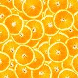 A laranja corta o fundo Imagens de Stock Royalty Free