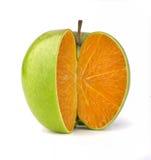 Laranja de Apple Fotos de Stock Royalty Free