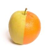 Laranja de Apple Foto de Stock