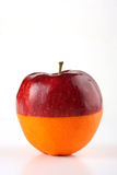 Laranja de Apple Foto de Stock Royalty Free