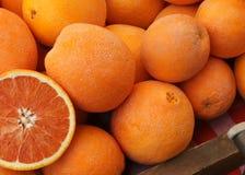 Laranja de Cara Cara, sinensis 'Cara Cara' do citrino imagens de stock royalty free
