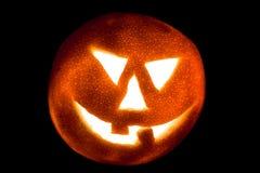 Laranja de Halloween. Fotografia de Stock