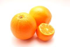 Laranja e mandarino Fotografia de Stock Royalty Free