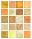 A laranja e o amarelo Textured o jogo do fundo Foto de Stock Royalty Free