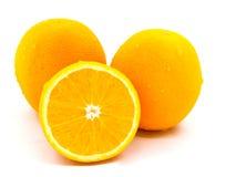 Laranja, fruta Imagens de Stock