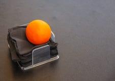 A laranja livra Fotos de Stock Royalty Free