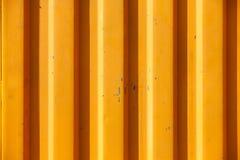 A laranja textured e alinhou o fundo industrial Imagens de Stock