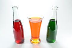 Laranja, verde e vermelho. Imagens de Stock Royalty Free