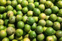 Laranja verde vietnamiana imagens de stock