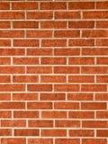 A laranja, vermelho bricked a parede Imagem de Stock Royalty Free