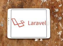 Laravel-Netz-Rahmenlogo lizenzfreie stockfotos