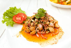 Larb hed Stock Photography