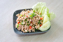 Larb moo Royalty Free Stock Image