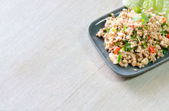 Larb moo Royalty Free Stock Images