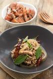 Larbmoo, Thaise Keuken Stock Afbeeldingen