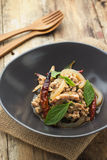Larbmoo, Thaise Keuken stock foto