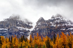 Free Larch Valley In The Canadian Rockies Royalty Free Stock Photos - 87830958
