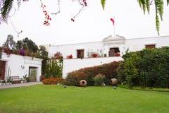 Larco博物馆,利马,秘鲁 免版税库存图片