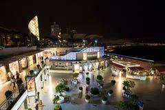 Larcomar商城在米拉弗洛雷斯,利马 库存图片