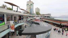 Larcomar commercial center facing the ocean Lima Peru