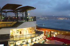 Larcomar Shopping Mall in Miraflores, Lima, Peru Stock Photography