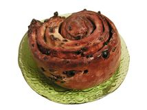 Lardy cake Royalty Free Stock Photography