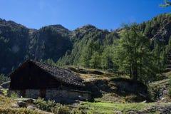 Larecchio Alpe στοκ φωτογραφία