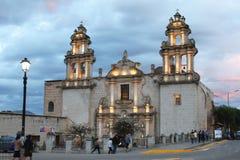 LaRecoleta kyrka, Cajamarca, Peru Arkivfoton