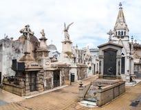 LaRecoleta kyrkogård Royaltyfri Bild