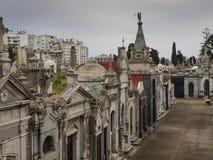 LaRecoleta kyrkogård, Buenos Aires, Argentina Arkivfoton
