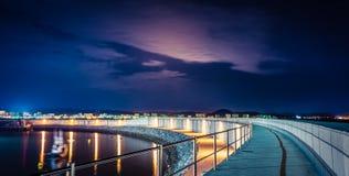 Laredo's harbour. Puerto de Laredo, Cantabria Stock Photos