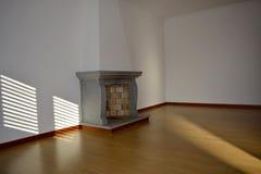 Lareira_Fireplace Immagini Stock Libere da Diritti